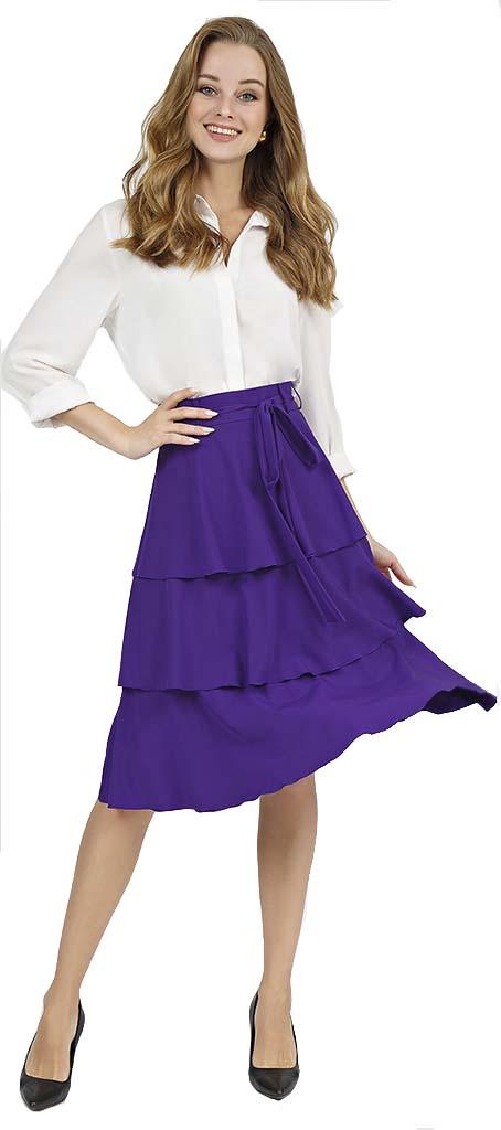 Фиолет юбка 1 к5